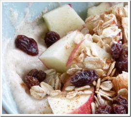 Guilt-free apple pie