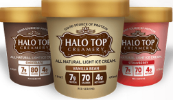 Halo Top Creamery Ice Cream