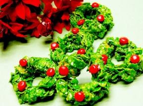 Corn Flake Wreaths