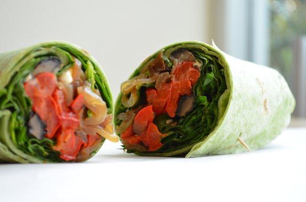 Portobello wrap