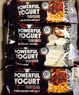Powerful Yogurt Protein Bars